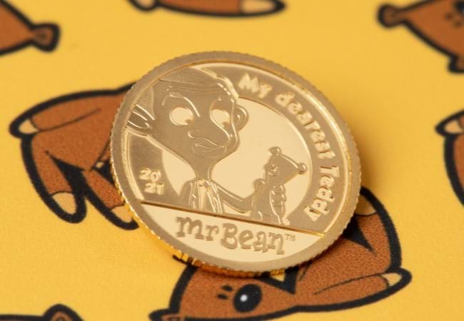 Mr Bean Gold Coin