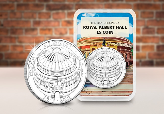 The 150th Anniversary of The Royal Albert Hall £5 Capsule Edition