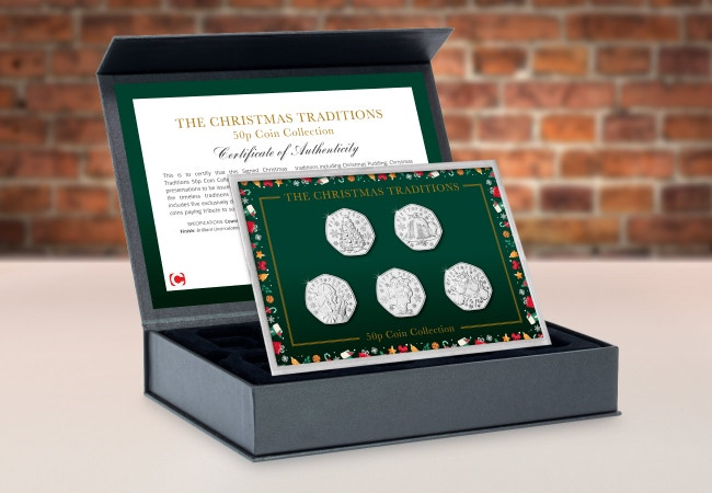 Signed Christmas Traditions Coin Collection