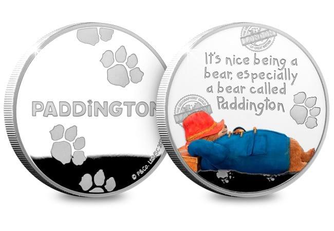 The Official Paddington Silver Commemorative