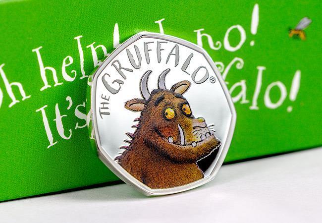 The Gruffalo Silver Proof 50p Coin - Collectology