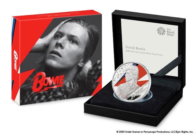 The David Bowie 1oz Silver Coin