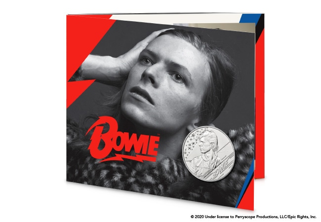 The David Bowie £5 BU Pack