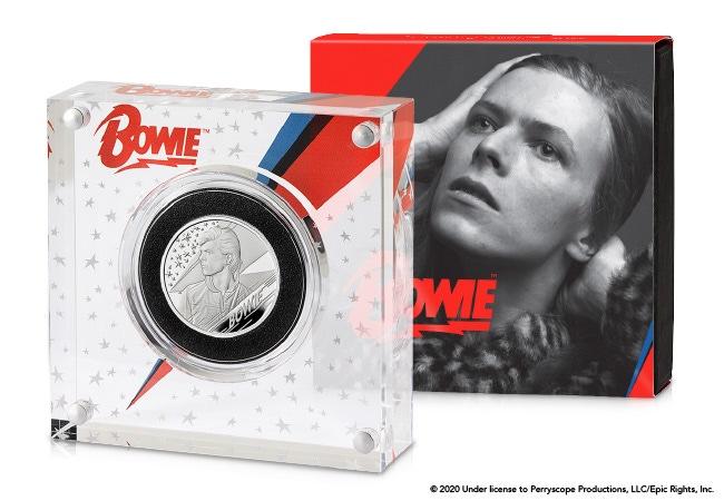 The David Bowie Half Ounce Silver Coin