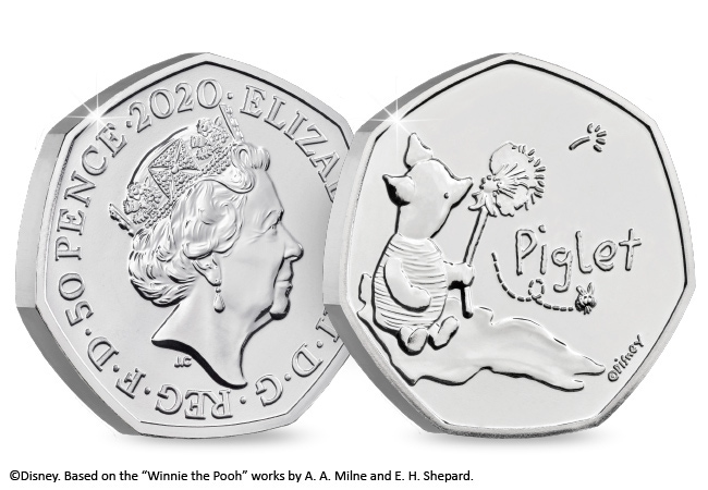 The Piglet 50p BU Pack